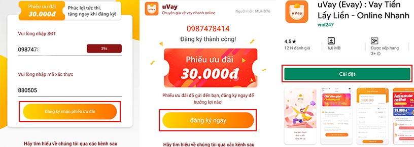 kiếm tiền uvay