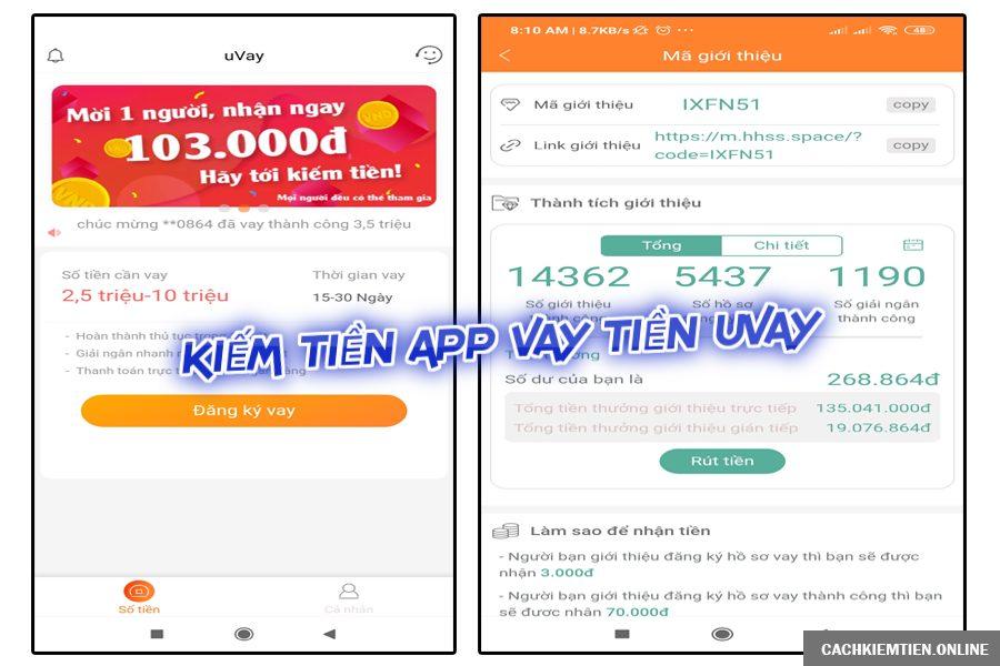app vay tiền online uvay