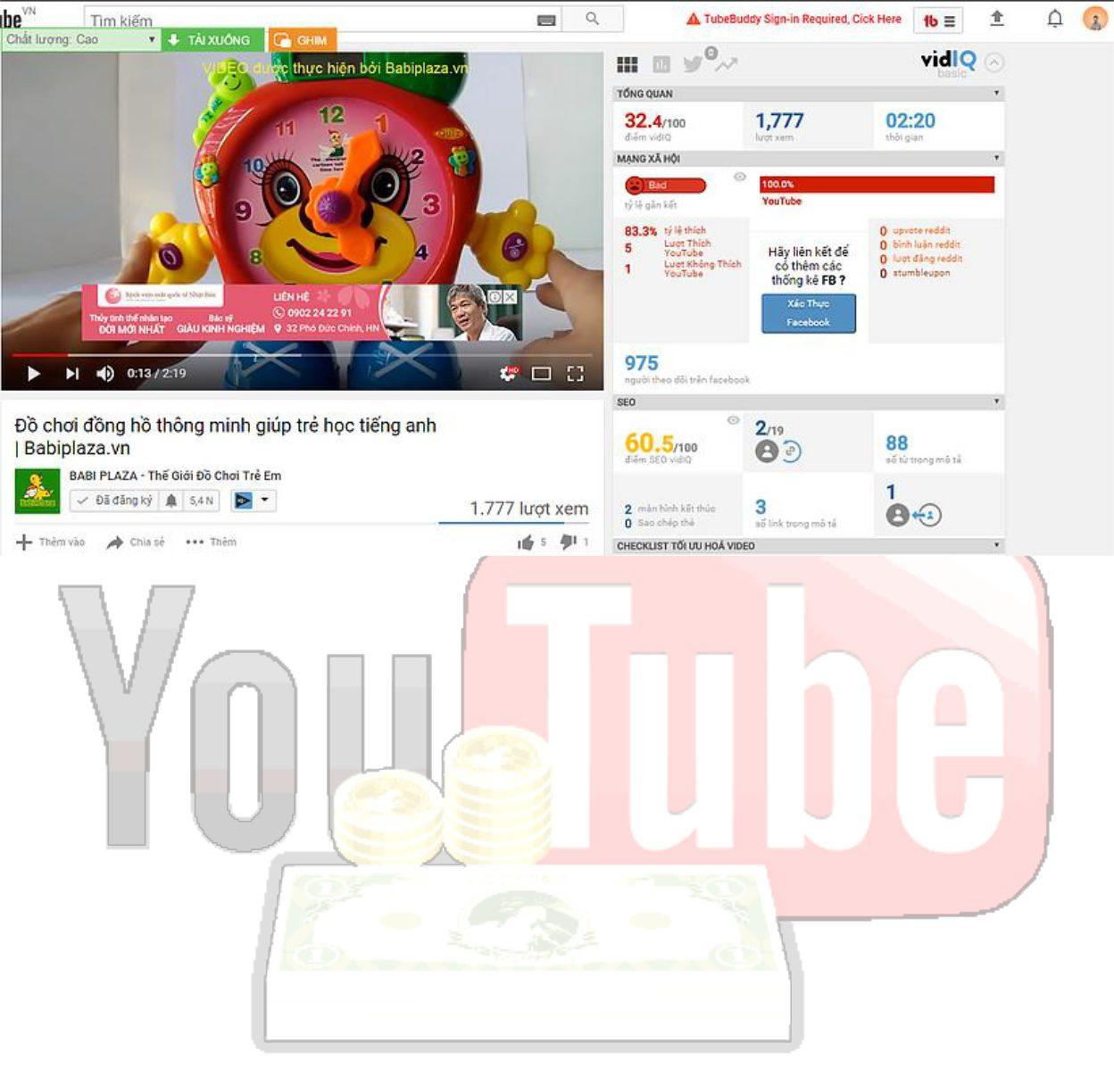 Làm kênh youtube Babi Plaza – Thế giới đồ chơi trẻ em
