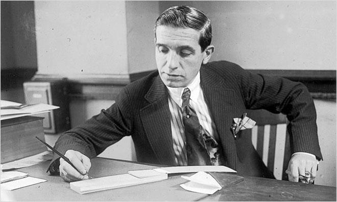 cha đẻ của mô hình kinh doanh đa cấp Ponzi