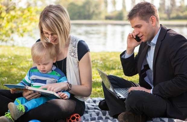 Cân bằng giữa kiếm tiền và gia đình giúp cải thiện chất lượng sống