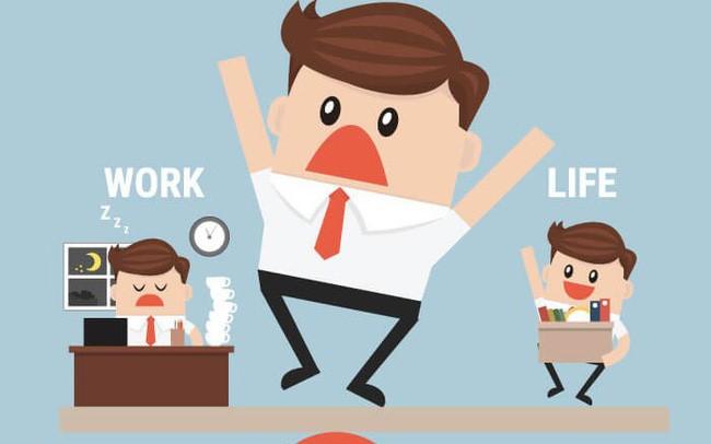 Sức khỏe tốt sẽ giúp cân bằng công việc và cuộc sống hiệu quả